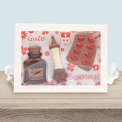 Plaisirs gustatifs - Coffret Médicaments en Chocolat