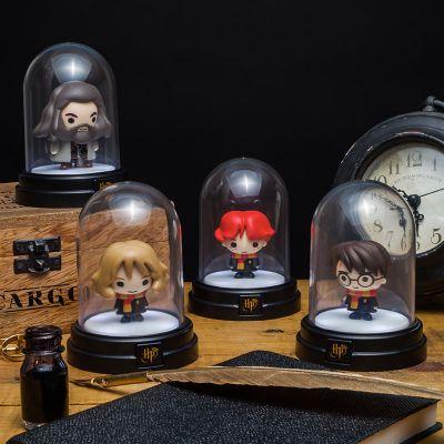 Petits cadeaux pas cher - Lampes sous cloche Harry Potter