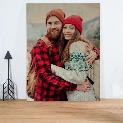 Cadeau mariage - Photo Personnalisable sur Bois