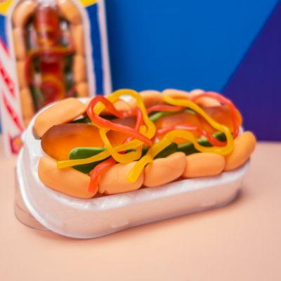 Cadeau d'Halloween - Hot-Dog de bonbons