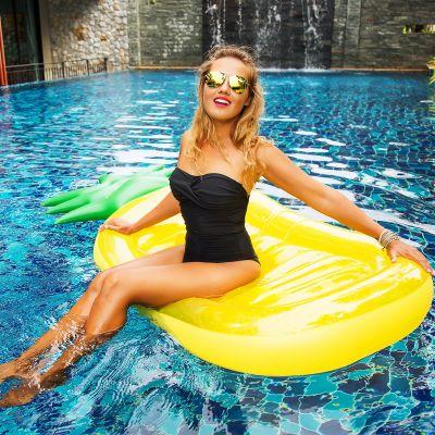 Accessoires pour le plein air - Bouée gonflable Ananas