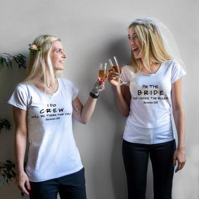 Produits exclusifs - T-Shirt Personnalisable pour le Mariage