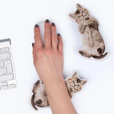 Jeux & Farces - Repose poignet anti-stress chien ou chat