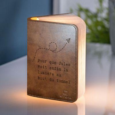 Éclairage - Lampe Livre Personnalisable avec Texte