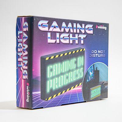 Cadeau de Noël pour homme - Lampe Gaming In Progress