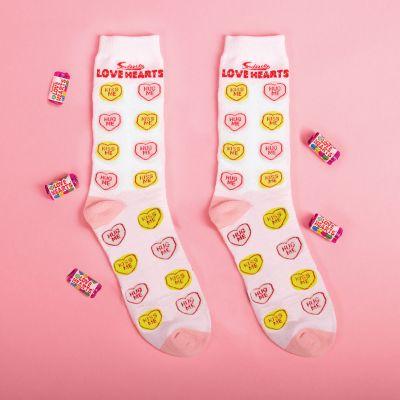 Cadeaux Paques - Chaussettes Love Hearts