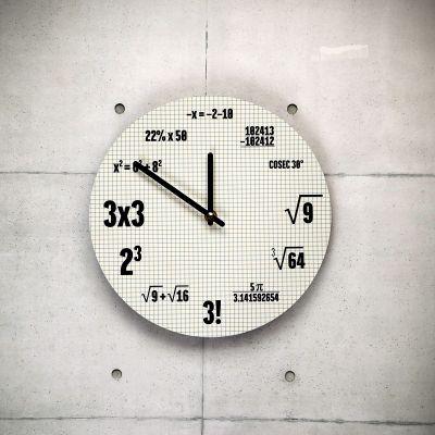 Horloges exclusives - Horloge Mathématiques