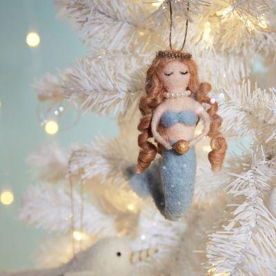 Décoration & Mobilier - Boule de Noël Sirène & Perles