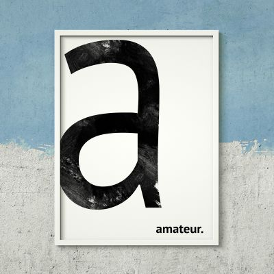 Posters exclusifs - Poster Personnalisable - Monogramme