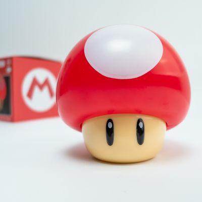 Cadeau anniversaire Femme - Lampe Champignon Super Mario