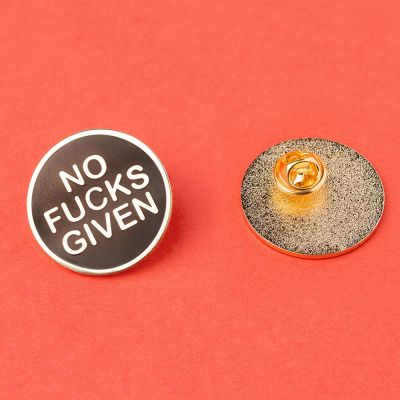 Bijoux - Pin's No Fucks Given