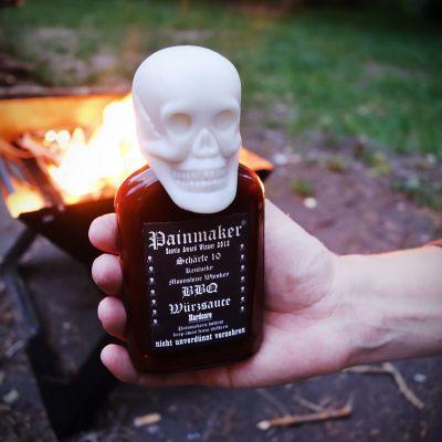 Cadeau d'Halloween - Sauce BBQ Painmaker Hardcore