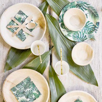 Été - Couverts de table et Décoration Tropicale