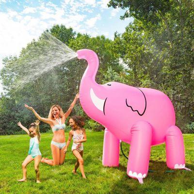 Été - Arroseur géant Éléphant rose