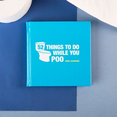 Cadeau pour son copain - Livre 52 Things To Do While You Poo