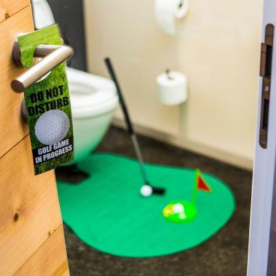 Cadeau crémaillère - Set de golf ultime pour les toilettes