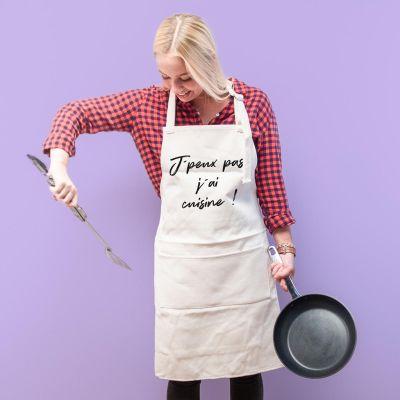 18dd30ce72dfe Cadeaux de Noël pour femme - Tablier de Cuisine Personnalisé