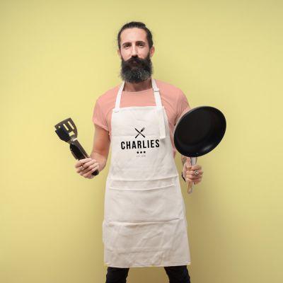 Été - Tablier de Cuisine Personnalisable Master Chef