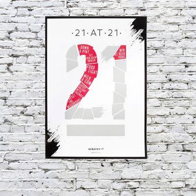 Décoration & Mobilier - Poster à Gratter « To Do List » en fonction de l'âge