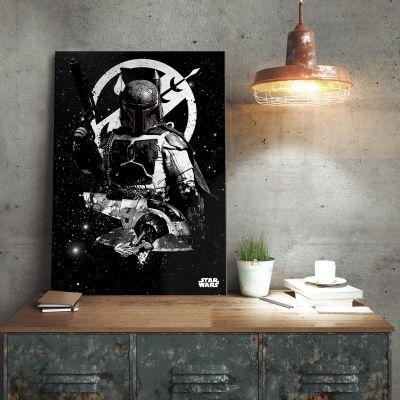Posters - Poster métallique Star Wars – Slave 1 Boba Fett