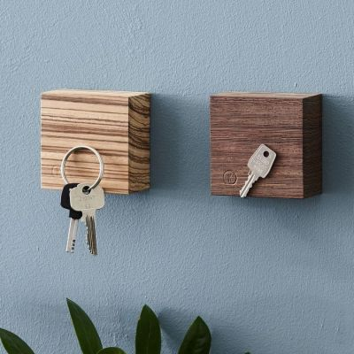 Gadgets pour la maison - Traktor - Cube en Bois Magnétique