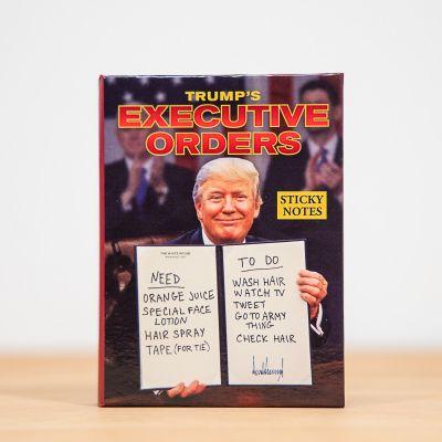 Jeux & Farces - Bloc-notes Ordres du Président