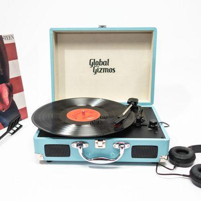Gadgets & High-Tech - Platine Vinyle Valise Rétro