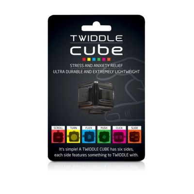 Jeux & Farces - Twiddle Cube anti-stress