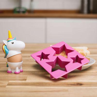Idées cadeaux pour mettre dans le calendrier de l'avent - Kit Coquetier Licorne
