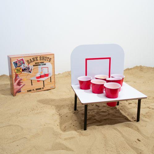 Jeu Beer Pong Basketball Pong