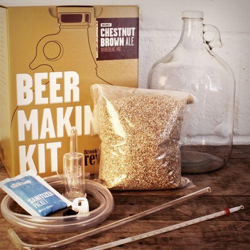 Idée cadeau - Kit Brassage Bière BROOKLYN BREW BOUTIQUE