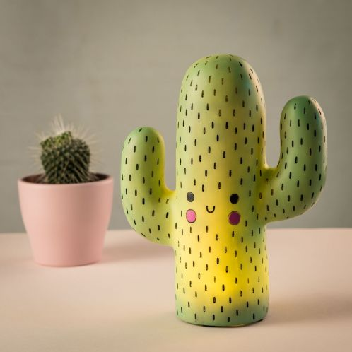 Cadeau de Noël - Lampe Cactus