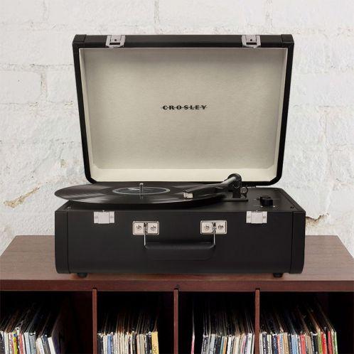 Cadeau anniversaire - Platine Vinyle Crosley Portfolio avec Bluetooth & USB