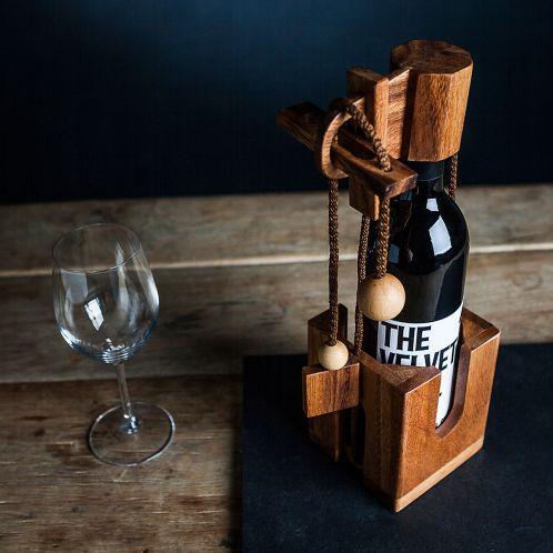 Cadeau anniversaire - Puzzle casse-tête bouteille