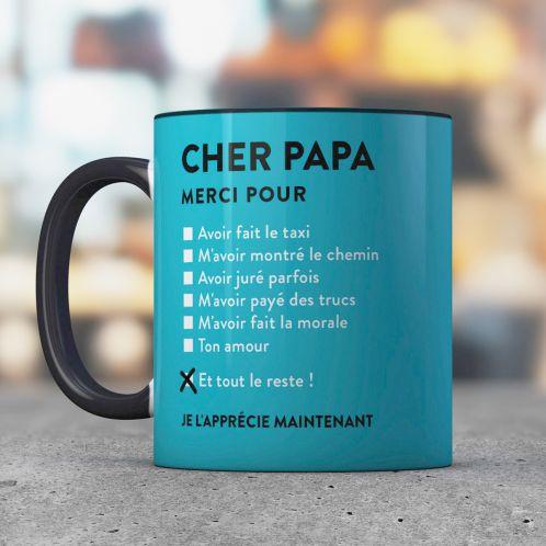 Cadeau anniversaire - Tasse Cher Papa