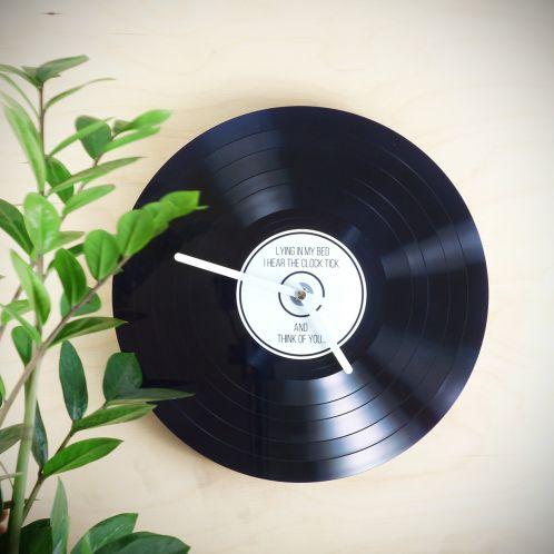 Horloge personnalisable Vinyle