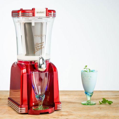 Cadeau anniversaire - SMART Nostalgia 2 en 1 - machine à slush et crème glacée