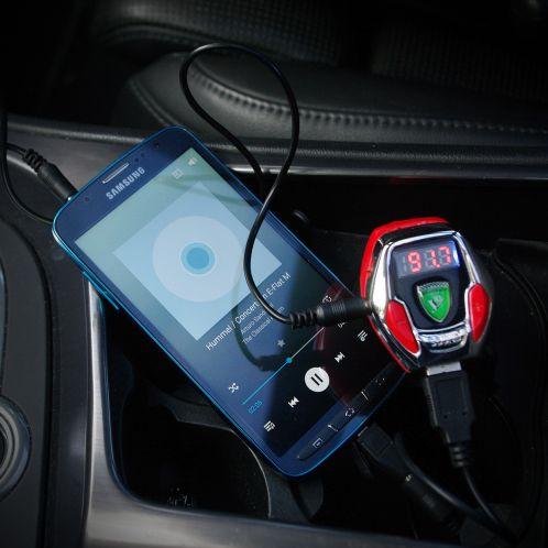 Idée cadeau - Sound Racer X – Bruit de moteur de voiture avec FM