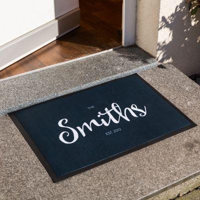 Personalisierbare Fußmatte