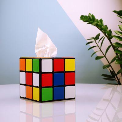 Rubiks Würfel Taschentuchbox aus Big Bang Theory