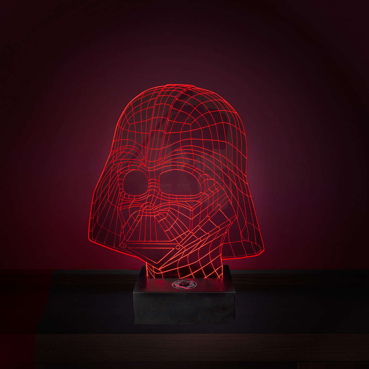 Lampe Star Wars LED - Effet 3D