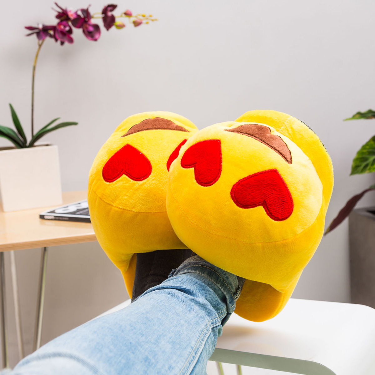 Chaussons Emoticones