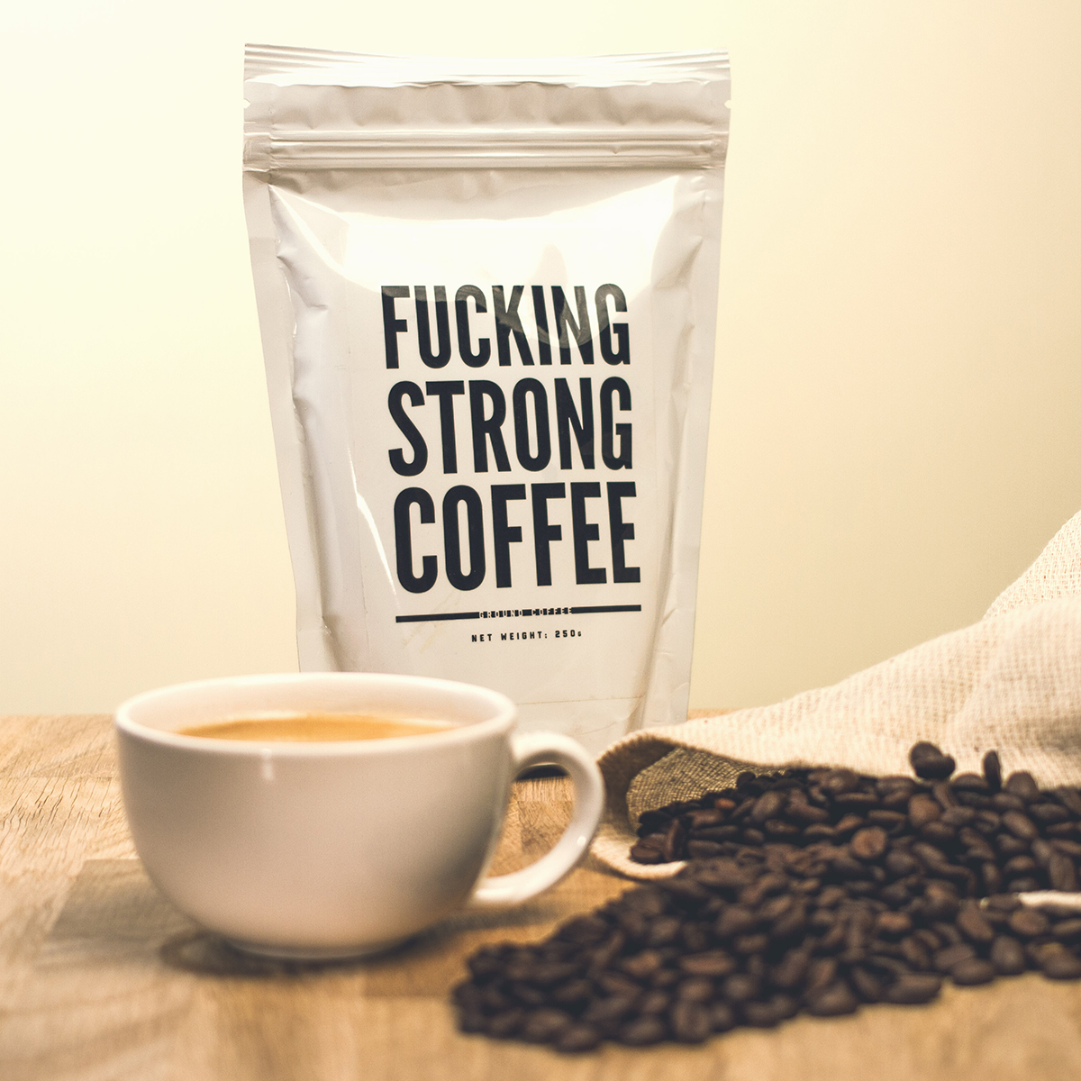 F*cking Strong Coffee : Café très fort