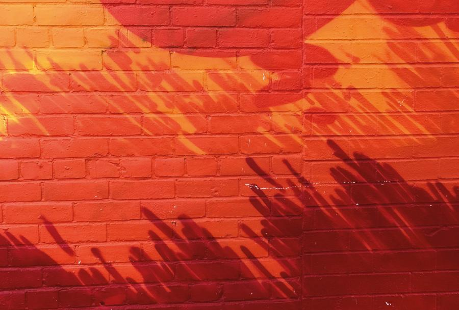 Farbige Fußmatte (FUCOXT) - Rot